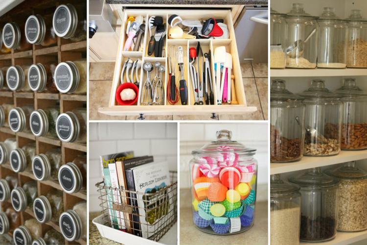 Ideas para organizar la cocina y aprovechar el espacio for Como ordenar la cocina