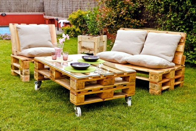 Tips para construir un juego de jardín con palets de madera – ALDA ...